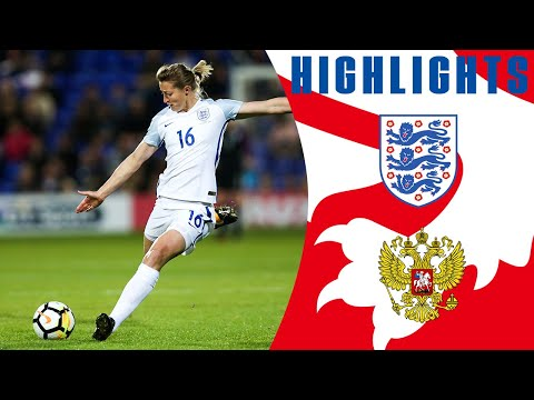 England Women 6-0 Russia Women (2019 World Cup Qualifier) | Official Highlights