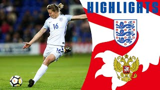 England Put 6 Past Russia in Their World Cup Qualifier! | England Women 6-0 Russia | Highlights