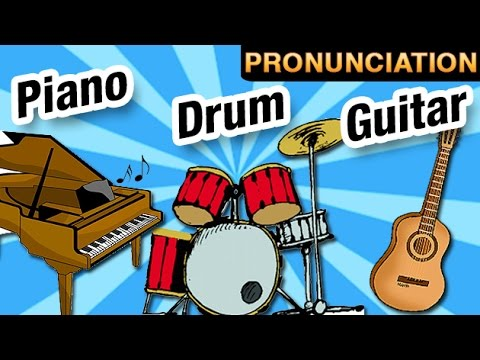Learn Musical Instruments And Their Names | Drum | Guitar | Piano