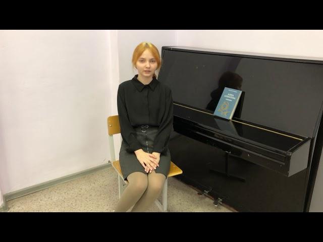 Изображение предпросмотра прочтения – НатальяРябцева читает произведение «Песня последней встречи» А.А.Ахматовой
