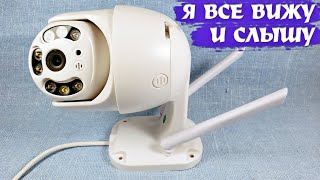 Бюджетная поворотная беспроводная IP-камера видеонаблюдения BESDER BES-A6 с подсветкой (Wi-Fi/1080p)