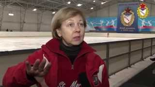 Юные фигуристы ЦСКА. Интервью Марины Селицкой