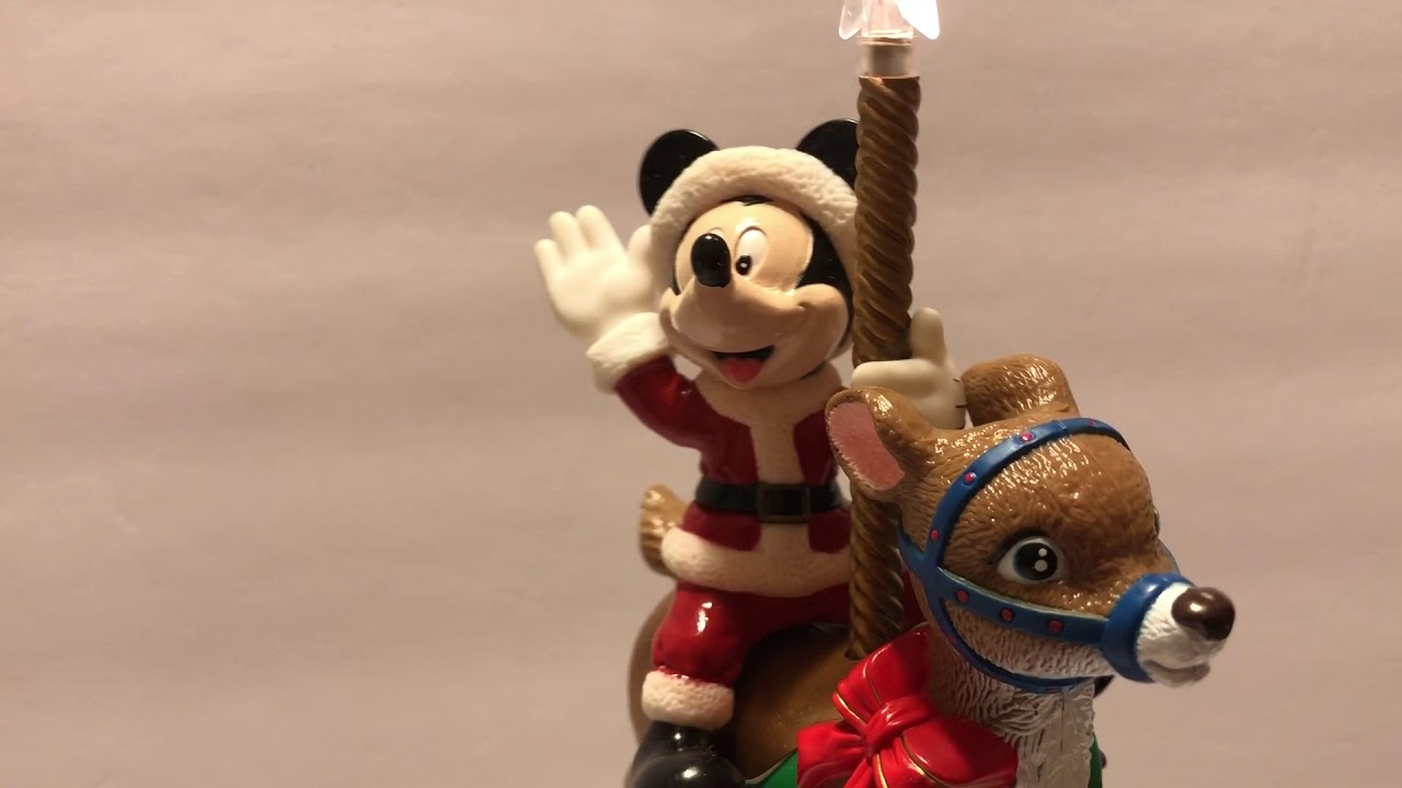 Mr Christmas Mickey Mouse Tree Topper