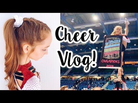 Cheerleading Competition Vlog!