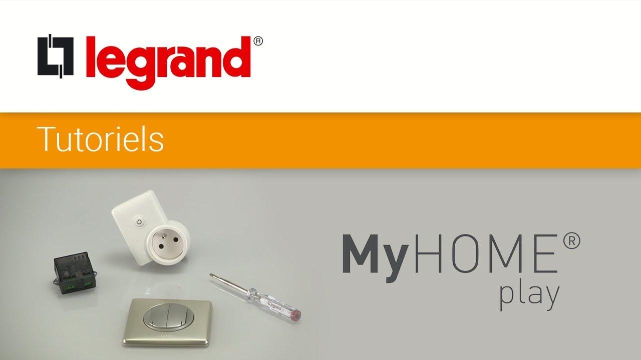 interrupteur myhome play comment installer une nouvelle commande d clairage radio youtube. Black Bedroom Furniture Sets. Home Design Ideas