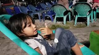 Pengamen keren pantai talise kota palu bareng artis novi anjelika