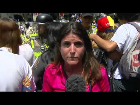 Venezuela's opposition leader surrenders
