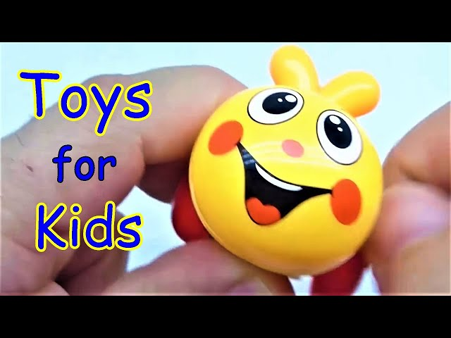Toys for children - Daily therapy activity with toys for kids