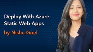 Deploy With Azure Static Web Apps