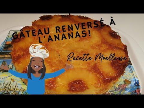 comment-faire-un-gâteau-moelleux-à-l'ananas