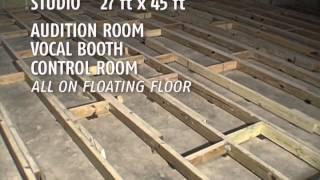 GMMc Digital Studio In The Making - Floating Floor Design