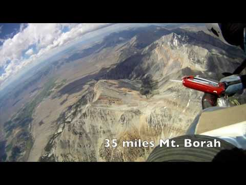 163 Mile Hang Glider Flight From King to Anaconda - YouTube