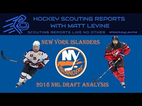 Collecting Steals? | New York Islanders 2018 NHL Draft Analysis