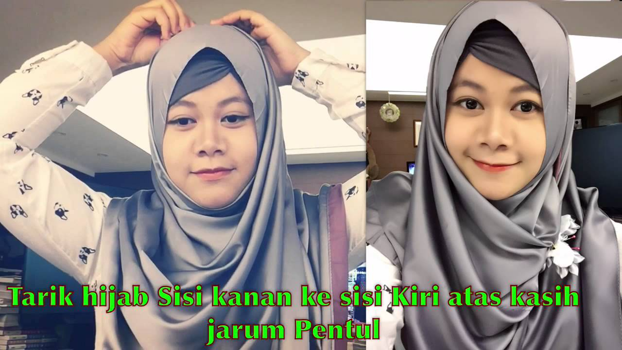 Tutorial Hijab By Marya Isma Simple YouTube