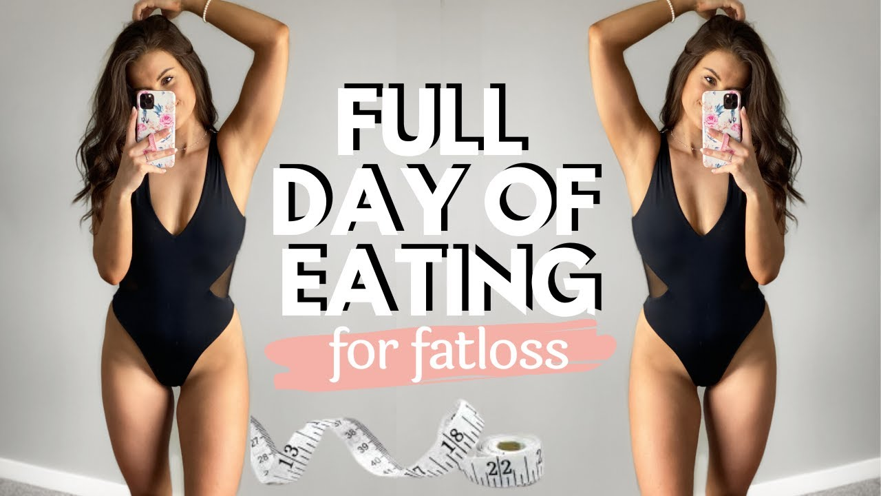 FULL DAY OF EATING FOR FAT LOSS // Realistic Day of Eating Quick Meals