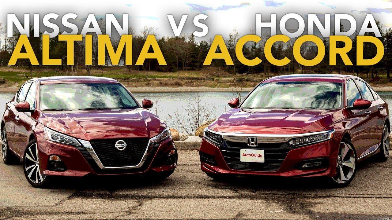 Nissan Vs Honda >> 2019 Nissan Altima Vs Honda Accord Comparison