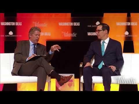 Secretary Steven Mnuchin / Washington Ideas 2017