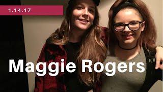 Maggie Rogers concert 14/1/16
