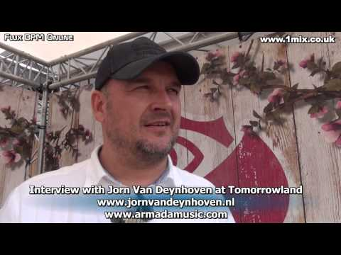 Interview with Jorn Van Deynhoven at Tomorrowland 2014
