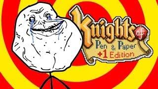 Para Nerds que não tem amigos - Knights of Pen and Paper +1 Edition (Gameplay)