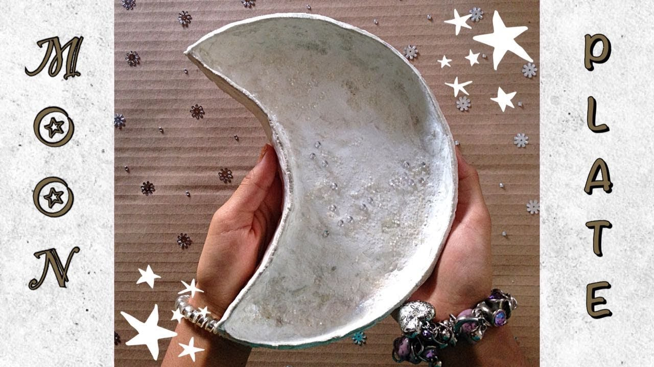 How To Make A Crescent Moon Plate