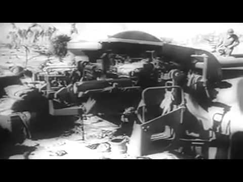November 1943: Newsreel: USMC Invasion & Capture Of Tarawa; Cairo Conference (full)