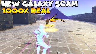 ¡NUEVA SCAM De Piel Galaxy 100% REAL! 😱 (Scammer Gets Scammed) Fortnite Save The World