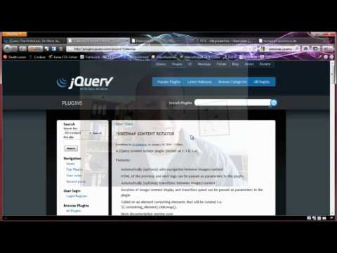 HTML Slideshow / Diaschau mit jQuery - Tutorial für Einsteiger - Adobe Dreamweaver - Deutsch from YouTube · Duration:  14 minutes 50 seconds