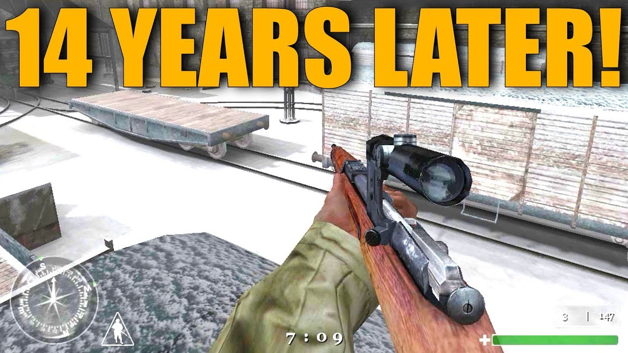 Call of Duty 1 Multiplayer Gameplay    14 Years Later!