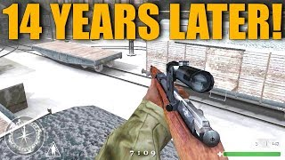 Call of Duty 1 Multiplayer Gameplay... 14 Years Later!