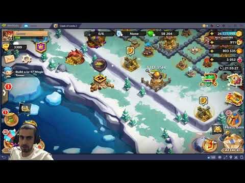 Clash Of Lords 2 Live Stream # Base Upgrade And More