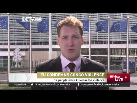 EU condemns Congo violence: Human rights abuses may have been committed