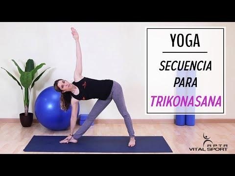 TRIKONASANA | Secuencia para la POSTURA DEL TRIÁNGULO from YouTube · Duration:  7 minutes 53 seconds