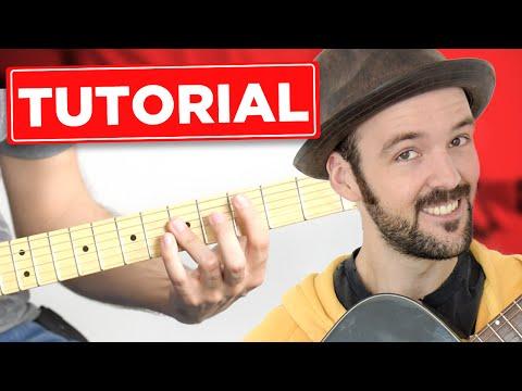Die Ärzte - 1/2 Lovesong - Gitarre lernen- Tutorial - Teil 1