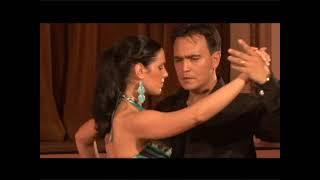 Argentine TANGO lesson OCHO CORTADO Step Georgina y Oscar Mandagaran