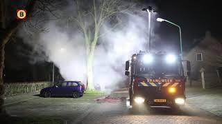 Vier autobranden in een nacht, het was raak in Oss, Dongen en Helmond