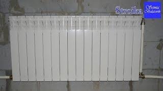 Стройка. Влог тепло в доме. Биметаллические радиаторы отопления.(, 2017-12-07T11:00:25.000Z)
