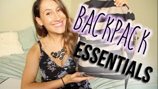 Back to School: Backpack Essentials! | itsLyndsayRae Thumbnail