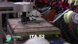 Пневматическая стреппинг машинка ITA 52 на стальную ленту