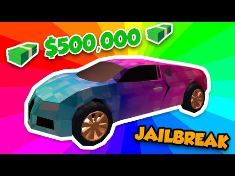 BUYING THE MOST EXPENSIVE CAR BUGATTI in ROBLOX JAILBREAK