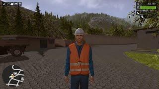 Construction Simulator 2015. ч.1 Обучение Ягорки