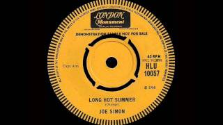 Joe Simon - Long Hot Summer