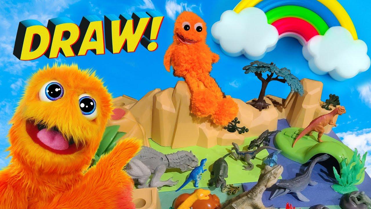 Новый эпизод Fuzzy Puppet !! Детские рисунки // Фан-арт