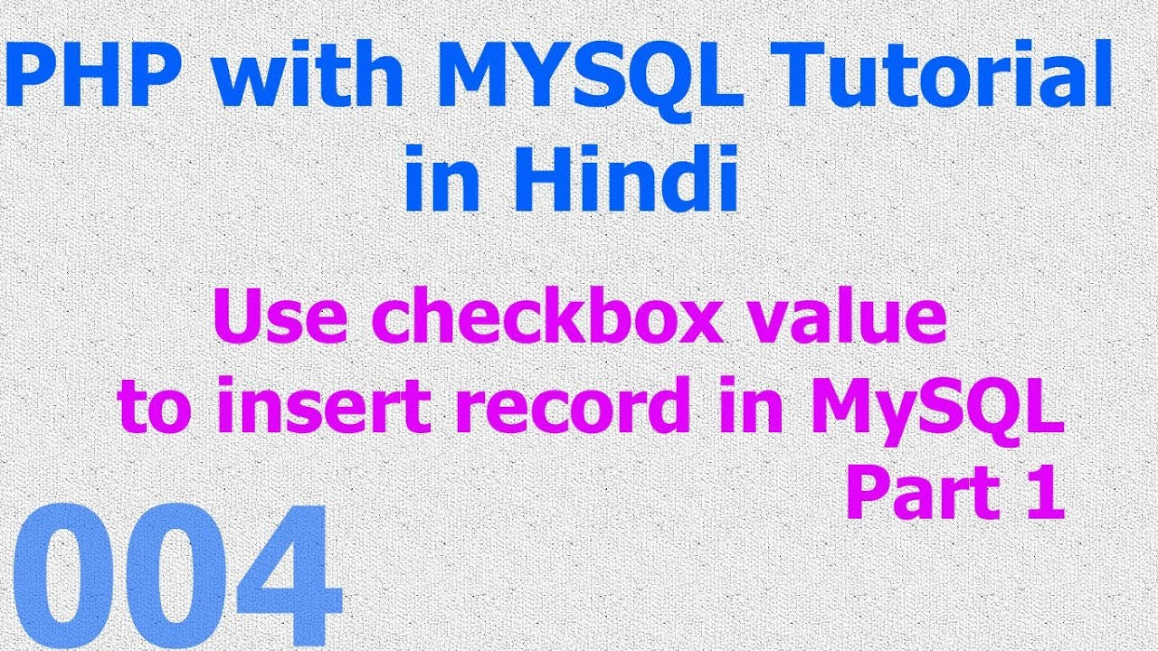 how to insert hindi text in mysql database