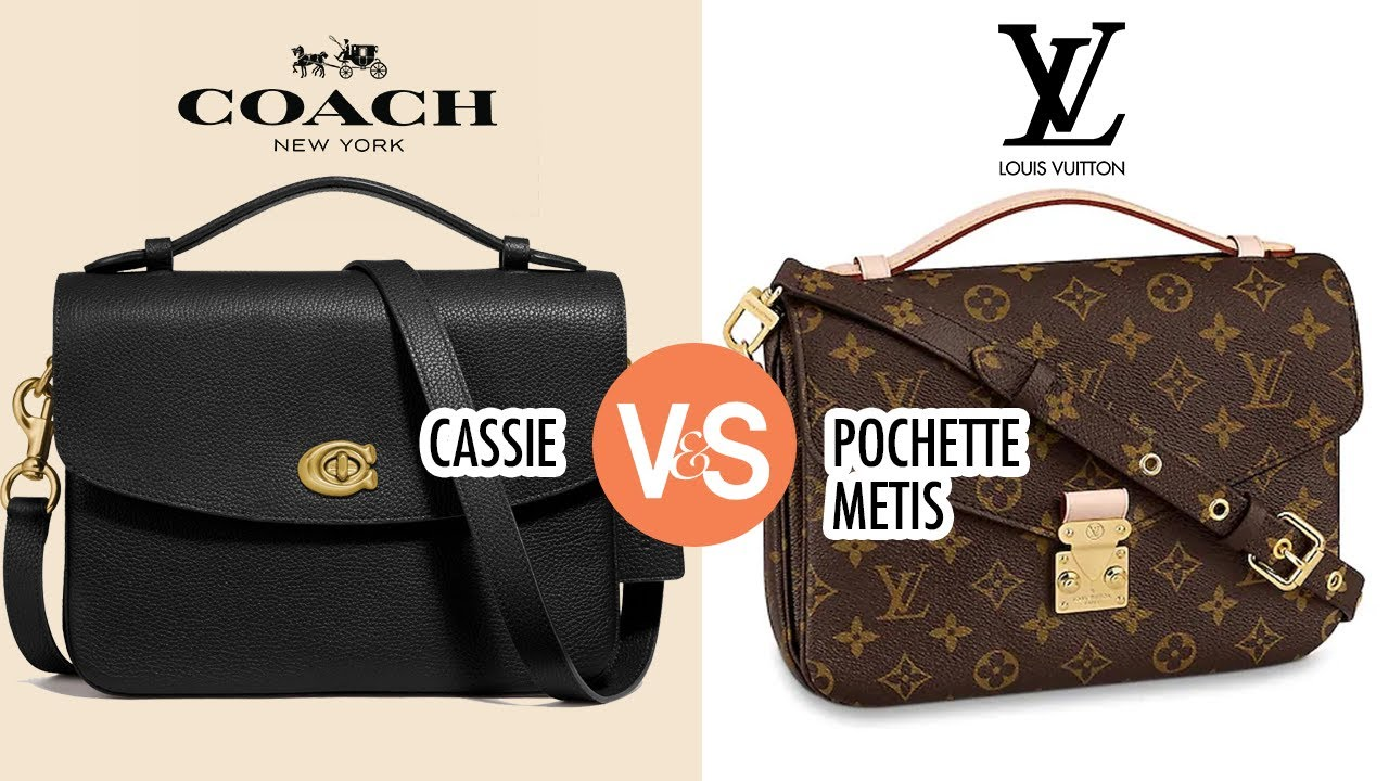 Comparing Cassie to the Pochette Metis LV vs Coach [Why buy the ...