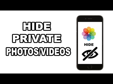 How to Hide Photos/Videos in your iPhone/iPad/iPod Camera Roll