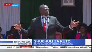 Naibu wa Rais William Ruto azuru Murang'a