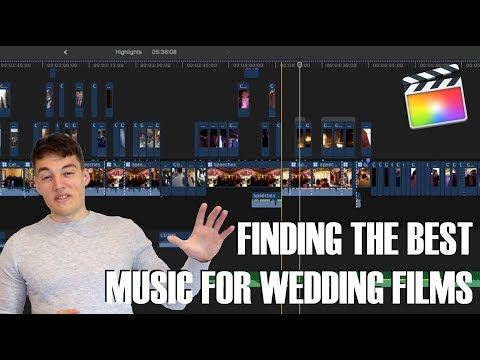 Choosing Music For Wedding Films - Wedding Videography Tips