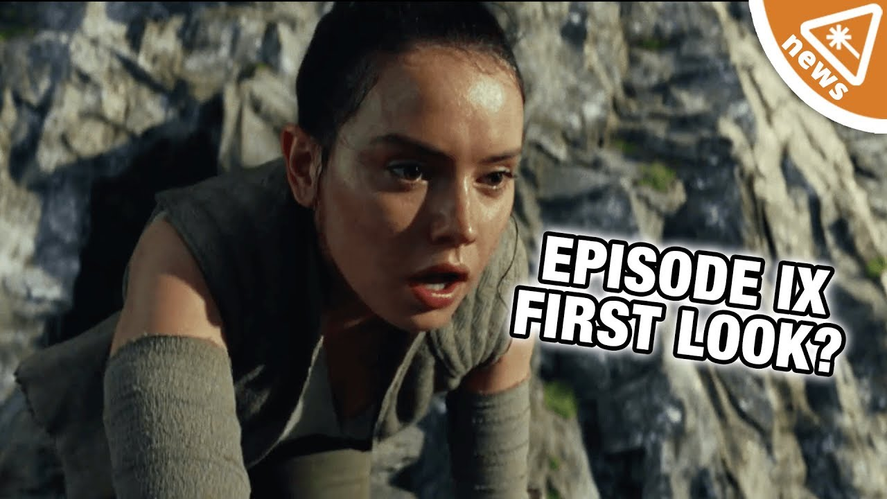 We're Breaking Down Our First Look at Star Wars Episode 9! (Nerdist News w/  Jessica Chobot)