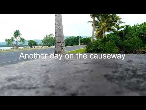 Volcanic haze in Micronesia